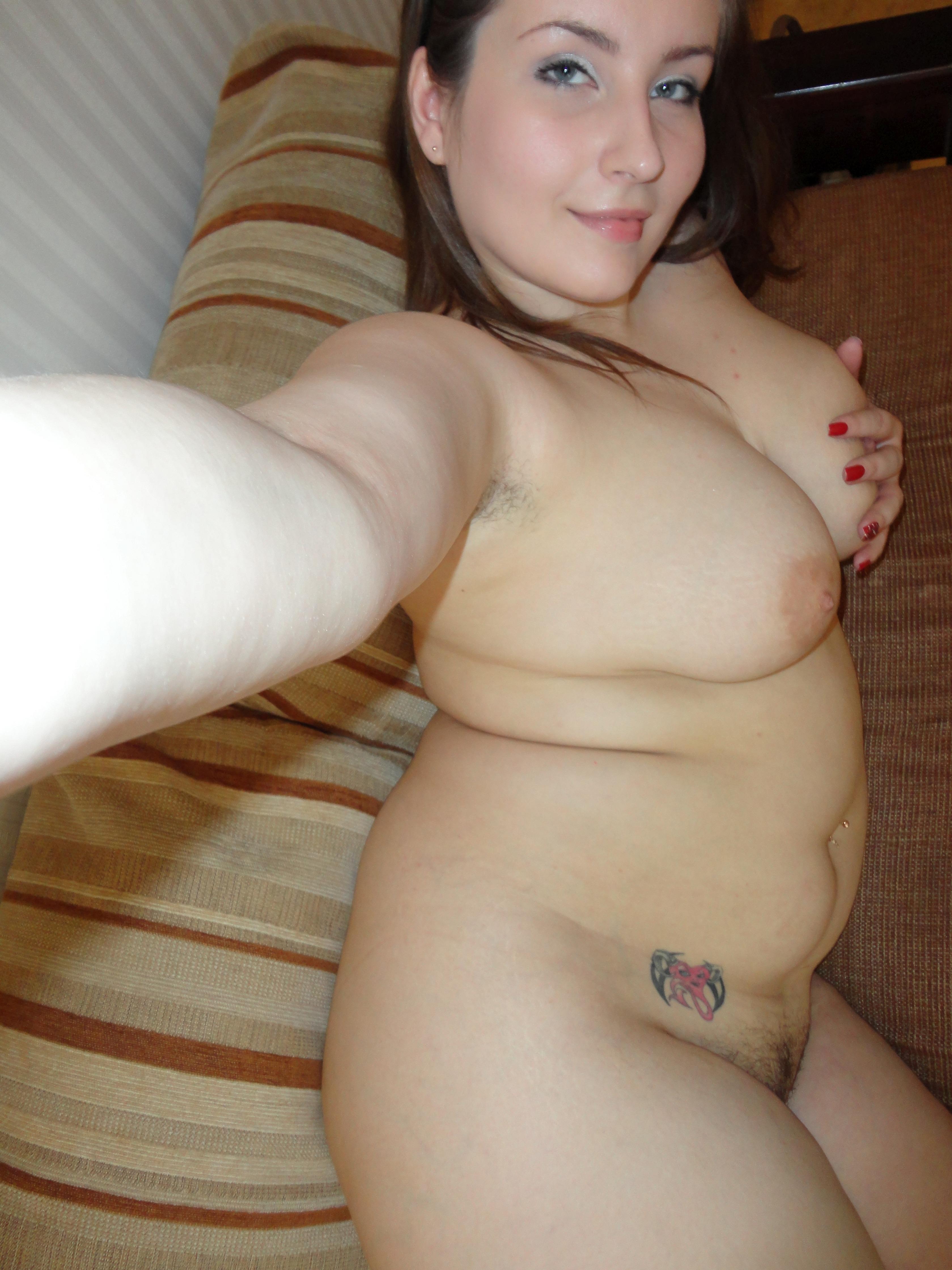 nackte fette Mädchen